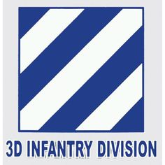 "Details: - Our 3D Infantry Division Decal is made of durable vinyl or Mylar if clear - UV protected against fading and cracking. - Made in the USA. - Dimensions: 4 ¼"" x 4 ¼"""