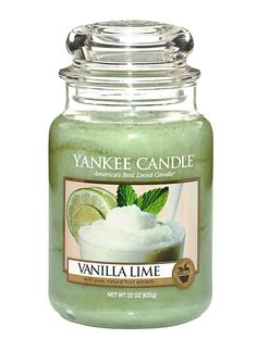 Vanilla Lime Yankee Candle AMAZiNG. Smells like Key Lime Pie! Love it!