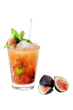 "Light Rum, Homemade Fig Marmalade, Fresh Lime & Mint, makes the ""Fig-ure Out"" @ Grande Bretagne-Athens, Greece"