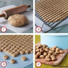 An easier way to cut Peppernuts! Pebernødder... Det var fandme smart.... :)
