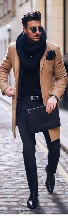 cfc3f0a6e5b Dashing Winter Outfit Ideas For Men -  Dashing  Ideas  Men  outfit