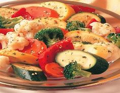 WW Mixed Vegetable Medley-This is a Weight Watchers 1 PointsPlus+ oven-baked recipe.