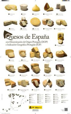 """You had me at """"queso"""" :) Spanish Cuisine, Spanish Dishes, Spanish Tapas, Spanish Food, Spanish Style, Fromage Cheese, Queso Cheese, Wine Cheese, Charcuterie"""