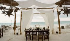 a rustic beach wedding by the style files Beach Wedding Reception, Bali Wedding, Wedding Bells, Destination Wedding, Dream Wedding, Wedding Art, Decor Wedding, Wedding Vows, Rustic Wedding