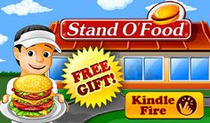 The best burger-serving game of all time, Stand O'Food® is FREE for all Kindle Fire owners today! Hurry to test your skills and speed in this addictive and fast-paced simulation adventure!   Play now: http://www.amazon.com/gp/product/B006MH1A1S