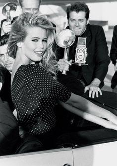 #GUESSGirl Claudia Schiffer in 1989