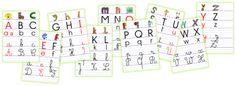 Affichage alphabet et Alphas