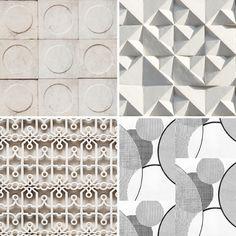 Monochrome wallpaper Ella Doran