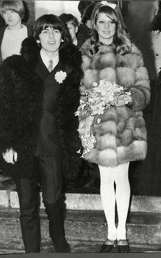 Pattie Boyd marries George Harrison in 1966