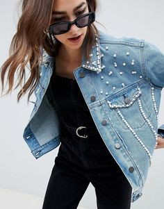 f5f2f135d5 37 Best Denim jacket embroidery images in 2019 | Embroidery, Denim ...