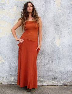 Gaia Conceptions - Love Me 2 Times Perfect Pockets Long Dress, $175.00 (http://www.gaiaconceptions.com/love-me-2-times-perfect-pockets-long-dress/)