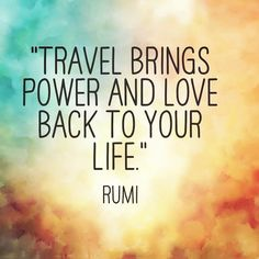 #wisdomwednesday  #travelquotes #quotes #rumi #travel #travelworld #wisdom #travelingram #trip #tripoto #wandering #wanderlust #wander #discoveryourself #discover #share #explore #keepexploring #power #life