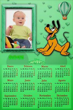 Recursos Photoshop Llanpac: Calendario del 2015 de Pluto para Photoshop (Psd y...