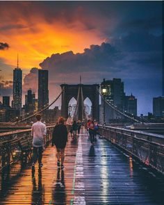 Brooklyn Bridge,New York City