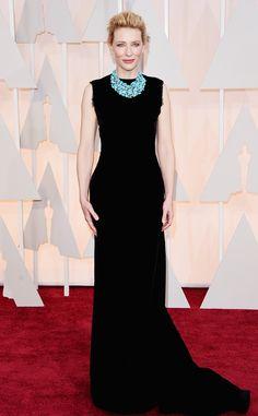 Cate Blanchett -  TAPETE VERMELHO DO OSCAR 2015