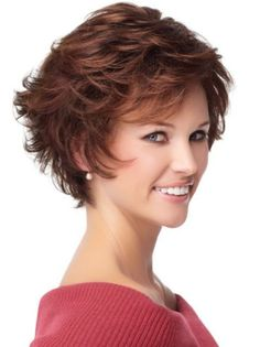 short shaggy hairstyles curly