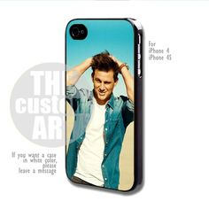 Channing Tatum - For iPhone 4 / 4s | TheCustomArt - Accessories on ArtFire