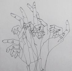 aesthetic, art, drawing, hand, sketch, tumblr, white - image ...