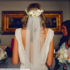 Floral crown with veil                                                                                                                                                                                 More