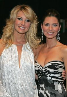Shania Twain  Faith Hill  Shania another of my very favorite most beautiful women in the world... db