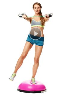 Exercise Ball Workout: Reverse Fly Girl