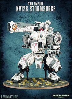 Miniature Table Games - WH40K Tau Empire KV128 Stormsurge ** You can get additional details at the image link.