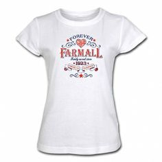 Farmall Womens White T-Shirt - Forever Farmall