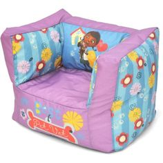 Doc McStuffins Toddler Bean Bag Chair Playroom Furniture Durable Easy Cleaning for sale online Toddler Bean Bag Chair, Toddler Bed, Playroom Furniture, Kids Furniture, Disney Finding Dory, Doc Mcstuffins, Toys For Girls, Girl Toys, Kids Room