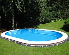 Ovalbecken mit Pooltiefe 1,20m von POOLSANA - hochwertige Materialien und Top-Preise. Entdecken Sie Qualität Made in Germany!