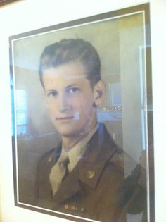 I got to do things like go to college because my grandfather did things like fight the Nazis.