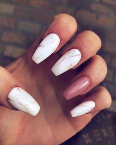 38 Summer Best Stunning Acrylic Nails Design 2019 Marmor Nails - New Ideas Wedding Acrylic Nails, Summer Acrylic Nails, Best Acrylic Nails, Acrylic Nail Art, Acrylic Nail Designs, Summer Nails, Wedding Nails, Best Nail Designs, Holiday Acrylic Nails