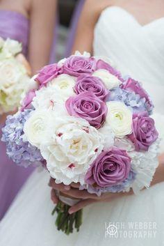Beautiful purple bouquet.