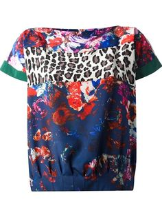 MSGM - floral t-shirt