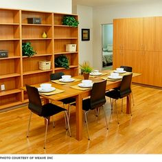 Easy-to-Clean- Finishes.  Durable easy to clean, finishes can be warm and inviting without feeling institutional. Finishes typically used in single family homes are not durable enough for the heavy use domestic violence shelters experience.