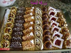Cookie Desserts, Cookie Recipes, Candy Drinks, Indian Dessert Recipes, Arabic Food, Chef Recipes, Healthy Baking, Christmas Baking, Cookie Decorating