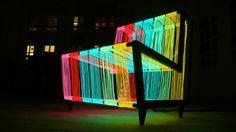 Light up disco chair