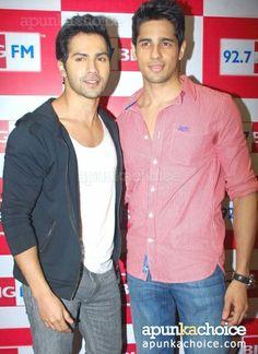 Sidharth Malhotra and Varun Dhawan