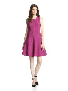 Ali Ro Women's Lacy Fit-and-Flare Dress at MYHABIT #Purple #Meow $129