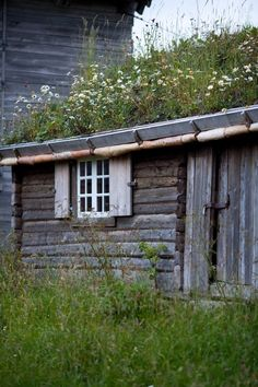 Old Norway Cabin by Jonathan Haider