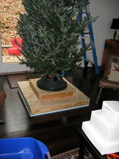 Best Christmas Tree Stand Ideas To Inspire You 13 Best Christmas Tree Stand, Artificial Christmas Tree Stand, How To Make Christmas Tree, Wood Christmas Tree, Holiday Tree, Christmas Tree Decorations, Christmas Holidays, Christmas Crafts, Winter Decorations