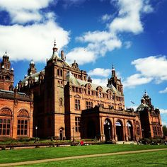 Kevlingrove Museum and Art Gallery in Glasgow, Scotland.