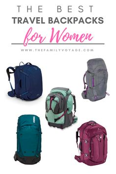 Are you searching for a girls's journey backpack? Try our hands-on evaluation of a few of the finest backpacks for ladies! How to decide on the precise girls's backpacks for journey in Together with Osprey Farpoint and Fairview, REI, Thule and Kelty. Carry On Packing, Packing List For Travel, Packing Lists, Best Backpack For Travel, Luggage Packing, Packing Hacks, Packing Supplies, Europe Packing, Travel Europe