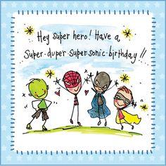 Super-Sonic Birthday