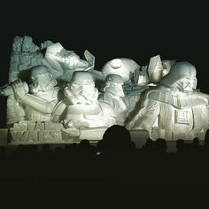 http://www.hexapolis.com/2015/02/06/massive-impressively-detailed-star-wars-ice-sculptures-made-japanese-army/