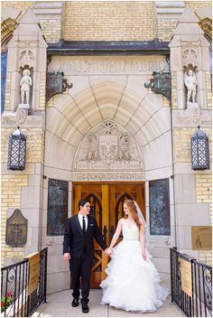 Carrie Holbo Photography | Chicago, IL | Wedding Photography | University of Notre Dame | Basilica of the Sacred Heart