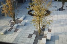 conceptlandscape: Erweiterung Gemeindehaus from carex: garden design by carolyn mullet