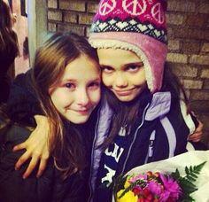 Tears when a Matty leaves❤ Sophia Gennusa and Oona Laurence original broadway Matildas