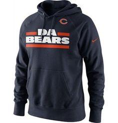 Nike Da Bears Hoodie  http://store.chicagobears.com/Nike-Da-Bears-Hoodie.aspx