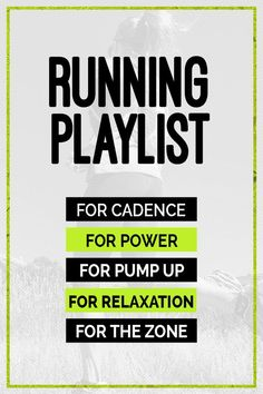 Top Running Playlists for any goal - workout music for speed, power or to relax. What works and why