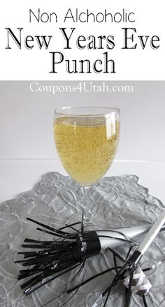 If you are looking for a fun, non alcoholic drink for New Years Eve, try my New Years Eve Punch. It's bubbly and perfect for the whole family.